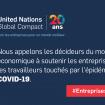 UNIR LES ENTREPRISES POUR RÉPONDRE À L'ÉPIDÉMIE DE COVID-19